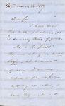 Phillips, Wendell, Letter.