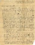 Trotter, William Monroe, Letter.