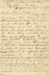 Steward, Maude Trotter, Letter.