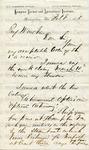 Armstrong, Samuel C., Letter.