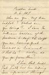 Dickinson, Anna E., Letter.