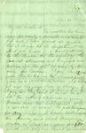 Davis, Pauline., Letter.