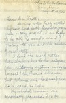 Bunche, Ralph., Letter.