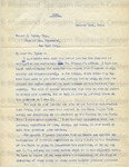 Moton, Robert Russa, Letter.