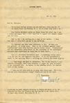 Odets, Clifford, Letter.