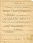 Dunbar, Paul Lawrence, Letter.