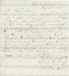 Trombly, B., Letter.