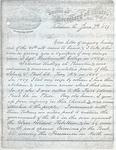 Gibbs, Jonathan C., 1826-1874, Letter.