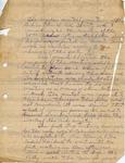 Stokes, Ora Brown, Letter.