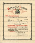 Republic of Liberia. [merit of military service]