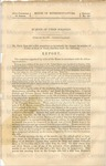U.S. 39th Congress. 2nd Session. House of Representatives. Report No. 23.