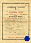 Court Benefit Association of the Most Worshipful Union Grand.