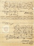 Jack, Certificate, of the Registry of Negro child.