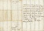 Taylor, John, Slave Marriage Permit.