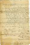 McLaren, John., Letter.