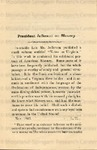 President Jefferson on Slavery. Excerpts from President Thomas Jefferson's work entitled