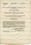 U.S. 29th Congress. 2nd Session. House of Representatives. Document No. 89.