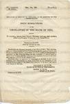 U.S. 29th Congress. 2nd Session. House of Representatives. Document No. 89.
