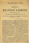 Charges against O. O. Howard; remarks of Hon. C.M. Hamilton