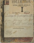 Diary at Washington, D.C. Jan. 1, 1871-March 27, 1871