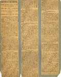 Newspaper clippings - re: O.O. Howard (pt 2) by O.O. Howard Collection