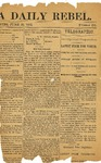 Newspaper clippings -'The Chattanooga Daily Rebel June 21, 1863