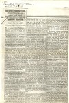 Photostatic copy ''The Sunday School Times 1863, April 4 by O.O. Howard Collection