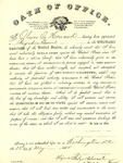 Documents - Commission of O.O. Howard as Brigadier General, May 1865