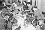 Children at a Christmas Party