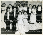 Children at a Tom Thumb Wedding