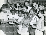Clarissa Scott and Other Children at Camp