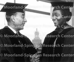Dr. Nelson and Dr. Juanita Kogowo [at Howard University with view from Douglass Hall]