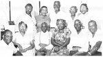 Family Reunion - Unidentified Group of Men and Women