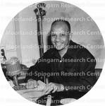 Disc Jockey Hal Jackson WUST Radio
