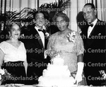 Anniversaries - Rev. Richmond Alvin Fairley and Mrs. Gladys Wilkinson Fairley (center) celebrate their 28th wedding anniversary