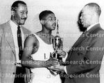 Basketball - Awards - Unidentified Group with Title Trophy