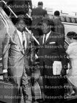Airplane - Two Men Preparing to Board a Plane