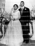 Weddings - Miss Avonia Brown Becomes Mrs. James Williams