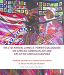 Program Booklet: 31st Annual James A. Porter Colloquium on African American Art and Art of The African Diaspora by Howard University