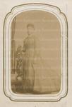 Unidentified Woman in Black Dress