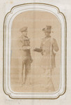 Unidentified sailor and soldier