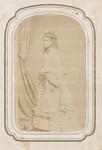 Unidentified woman in elaborate dress