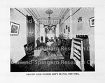 New York YMCA Reading Room in Testimonies and Statistics 1875-1901