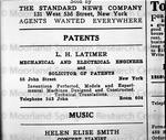 AD for patents