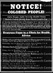 AKA Health Project Flyer (Alpha Kappa Alpha)
