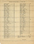 Promethean Financial Report as of January 1946