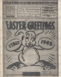 Easter Greetings Italy 1945