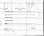 Military Record by Thomas Montgomery Gregory