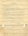 Sawkins, A. E. to Captain George A. Holland, 30 April 1919